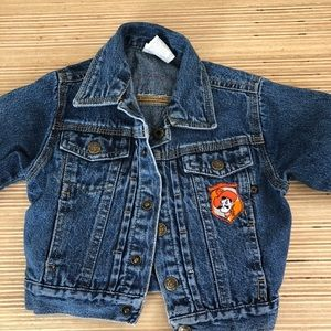 OK State Denim Jacket 6-9 mo
